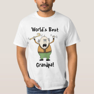 World's Best Grandpa! T-Shirt