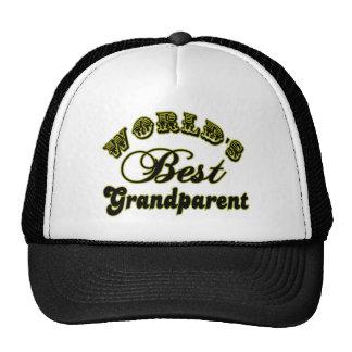 World's Best Grandparent Hat Trucker Hat