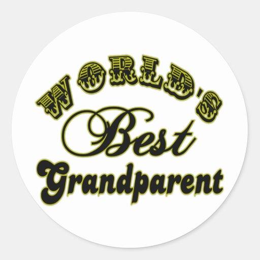 World's Best Grandparent Sticker