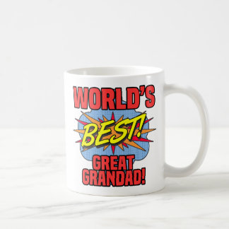 World's Best Great Grandad Coffee Mug