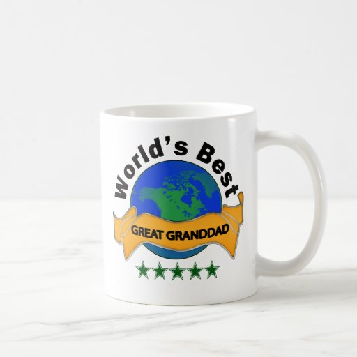 World's Best Great Granddad Coffee Mugs