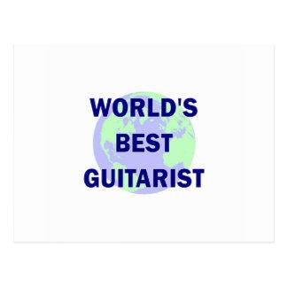 World's Best Guitarist Post Cards