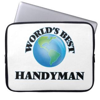 World's Best Handyman Laptop Sleeve