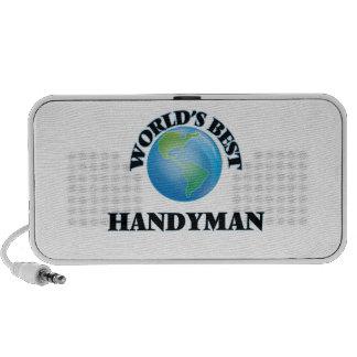 World's Best Handyman iPod Speakers