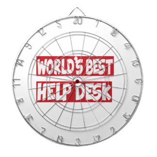 World's Best Help Desk. Dartboard