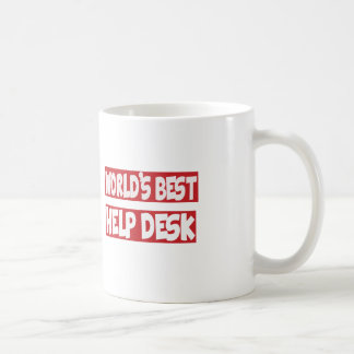 World's Best Help Desk. Mug