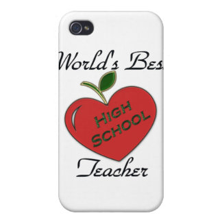World's Best High School Teacher iPhone 4 Cover