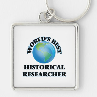 World's Best Historical Researcher Key Chains