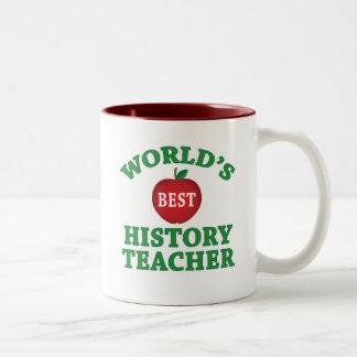 World's Best History Teacher Coffee Mug