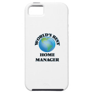 World's Best Home Manager iPhone 5 Cover