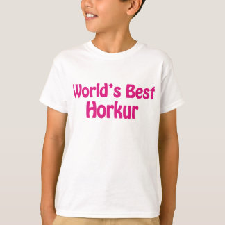 World's Best Horkur T-Shirt