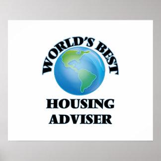 World's Best Housing Adviser Print