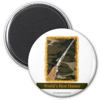 World's Best Hunter Magnet
