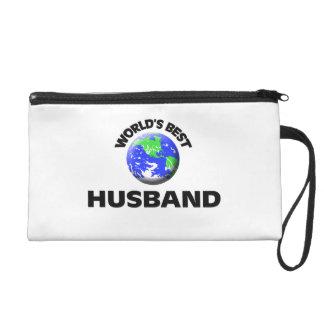 World's Best Husband Wristlet