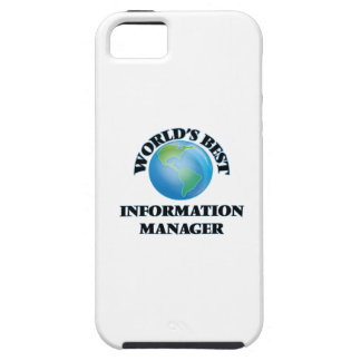 World's Best Information Manager iPhone 5/5S Cover