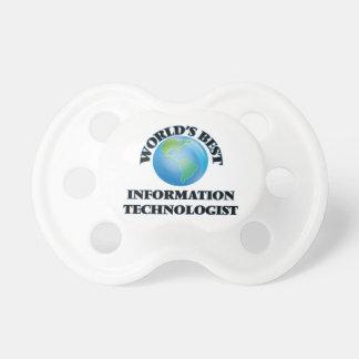 World's Best Information Technologist BooginHead Pacifier