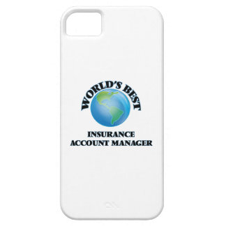 World's Best Insurance Account Manager iPhone 5 Case
