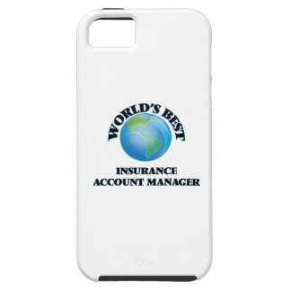 World's Best Insurance Account Manager iPhone 5/5S Case