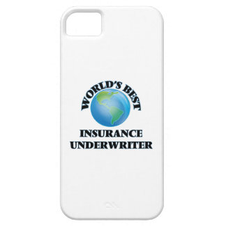 World's Best Insurance Underwriter iPhone 5/5S Cover