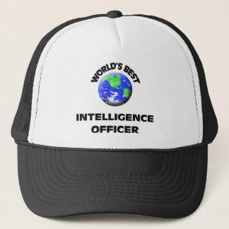 World's Best Intelligence Officer Trucker Hat