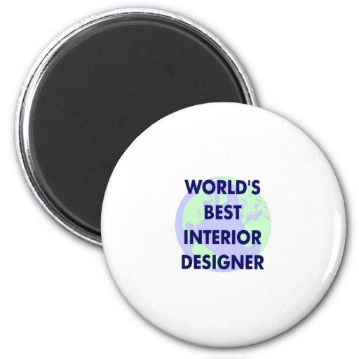 World's Best Interior Designer Magnet