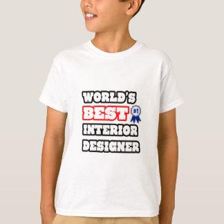 World's Best Interior Designer T Shirts