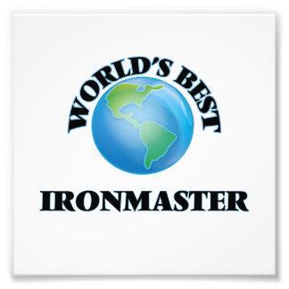 World's Best Ironmaster Photo Art