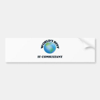 World's Best It Consultant Bumper Stickers