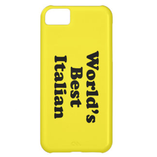 World's Best Italian Case For iPhone 5C
