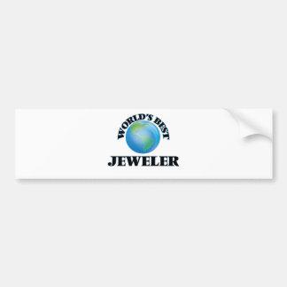 World's Best Jeweler Bumper Stickers
