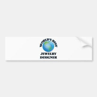 World's Best Jewelry Designer Bumper Stickers