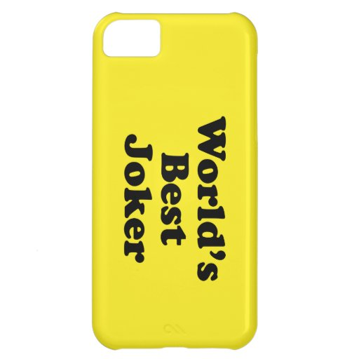 World's Best Joker iPhone 5C Cases