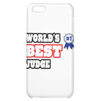 World's Best Judge iPhone 5C Cases
