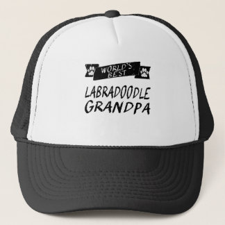 World's Best Labradoodle Grandpa Trucker Hat