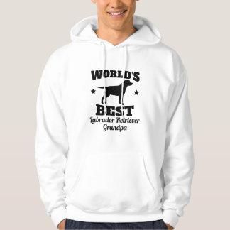 Worlds Best Labrador Retriever Grandpa Hoodie