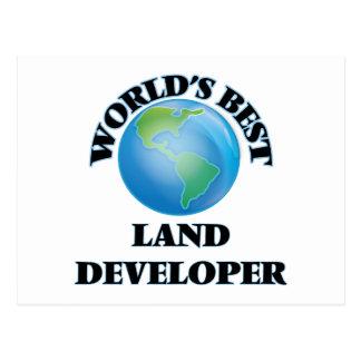 World's Best Land Developer Post Cards