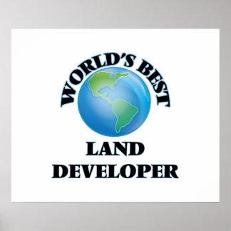 World's Best Land Developer Poster