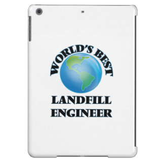 World's Best Landfill Engineer iPad Air Cover