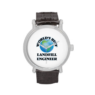 World's Best Landfill Engineer Wrist Watches