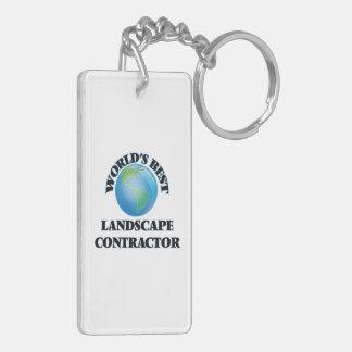 World's Best Landscape Contractor Key Chains