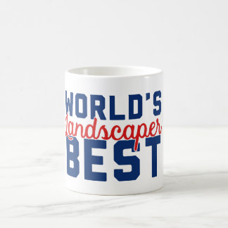 World's Best Landscaper Coffee Mug