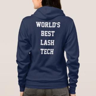 World's best lash tech hoodie