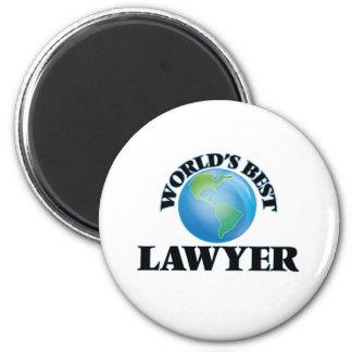 World's Best Lawyer 6 Cm Round Magnet