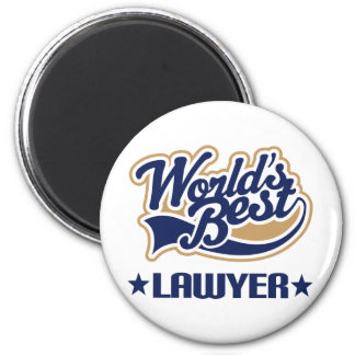 Worlds Best Lawyer Magnets