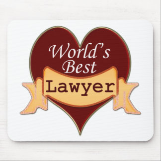 World's Best Lawyer Mouse Pad