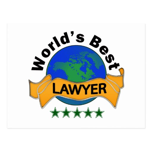 World's Best Lawyer Post Cards