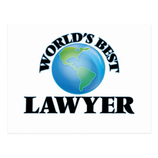 World's Best Lawyer Post Card