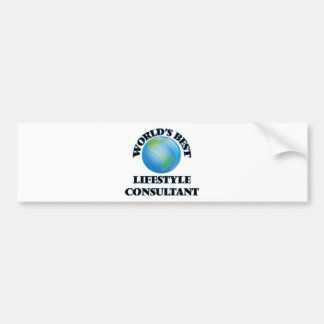 World's Best Lifestyle Consultant Bumper Stickers