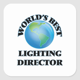 World's Best Lighting Director Stickers