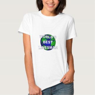 World's Best Linesman Tee Shirt
